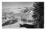 Aspen, Colorado - Aspen Chair Lift View of Roaring Fork Valley Poster