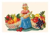 Mother Goose & Fruits Posters