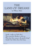 The Land of Dreams Poster von William Blake
