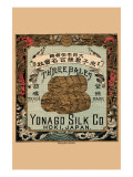 Three Bales, Yonago Silk Co., Hoki, Japan Posters