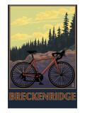 Breckenridge, Colorado - Mountain Bike Affiches par  Lantern Press