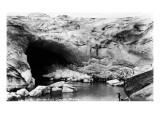 Alaska - Mendenhall Glacier Ice Cave Kunst von  Lantern Press