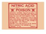 Nitric Acid - Poison Art