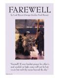 Farewell Print