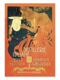 Distillerie Italiane (Italian Distillery) Kunstdrucke von Leopoldo Metlicovitz