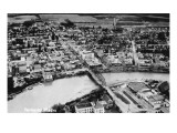 Fairbanks, Alaska - Aerial View of the City Prints by  Lantern Press
