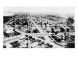 Glendive, Montana - Aerial of Residence District Prints