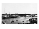 Sitka, Alaska - View of Japonski Island Prints
