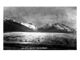 Alaska - View of Spencer Glacier Poster