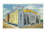 Chicago, Illinois - Chicago Stadium Exterior View Posters