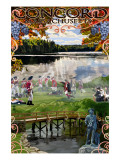 Concord, Massachusetts Views Posters