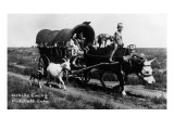 Pritchett, Colorado - Orville Ewing; Covered Wagon Scene Posters