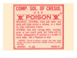 Comp. Solution of Cresol Prints