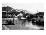 Sun Valley, Idaho - Village Square Scene Prints