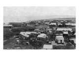 Port Isabel, Texas - General View of Town Print by  Lantern Press
