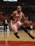 Atlanta Hawks v Chicago Bulls - Game Five, Chicago, IL - MAY 10: Taj Gibson Photographic Print by Jonathan Daniel