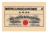 Mercurochrome Prints
