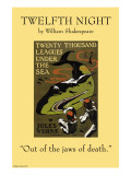 Twelfth Night - Jaws of Death Posters
