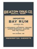 Bay Rum Print