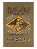 Rawsilk Filature Manufactured By Sanriu-Sha Nippon Posters