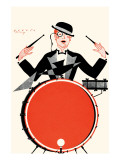 Deco Drummer Prints