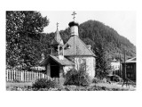 Juneau, Alaska - Russian Church Exterior Poster