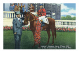 Kentucky - Kentucky Derby Winner Citation in 1948 Prints by  Lantern Press