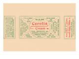 Cerolia Cream Print