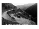 Central City, Colorado - Shelf Road in Virginia Canyon Prints by  Lantern Press