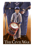Americam Civil War - Drummer Boy Kunstdrucke von  Lantern Press