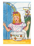 Goldilocks Tries Mama Bear's Porridge Posters by Julia Letheld Hahn