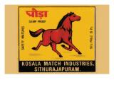 Kosala Match Industries Safety Matches Prints