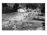 Glenwood Springs, Colorado - Swimming Pool and Beach Print