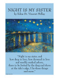 Night Is My Sister Print