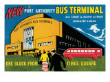 New Port Authority Bus Terminal Print