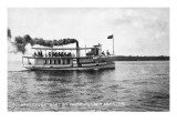 West Okoboji Lake, Iowa - Passenger Boat Queen Poster by  Lantern Press