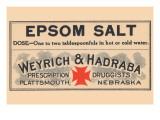 Epsom Salt Posters