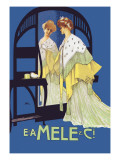 In the Mirror Poster von Leopoldo Metlicovitz