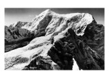 Alaska - View of Mt St. Elias Prints by  Lantern Press