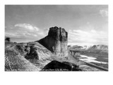 Wyoming - US Hwy 30 View of Toll Gate Rock, Green River Posters by  Lantern Press