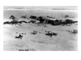 Kotzebue, Alaska - View of a Snowy Airstrip Prints by  Lantern Press