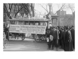 Woman's Suffrage Bus Posters