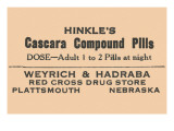 Hinkle's Cascara Compound Pills Posters
