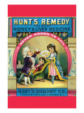 Hunt's Remedy Kidney & Liver Medicine Posters