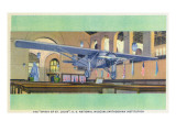 Washington DC - Smithsonian Institution; Spirit of St. Louis Plane Prints