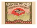 Filature Raw Silk Plakat