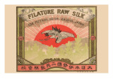 Filature Raw Silk Poster