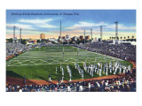 Tampa, Florida - University of Tampa; Phillips Field Stadium View Affiches