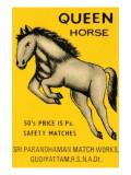 Queen Horse Poster