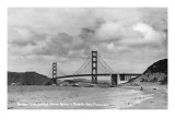 San Francisco, California - Golden Gate Bridge from Baker's Beach Kunstdrucke von  Lantern Press